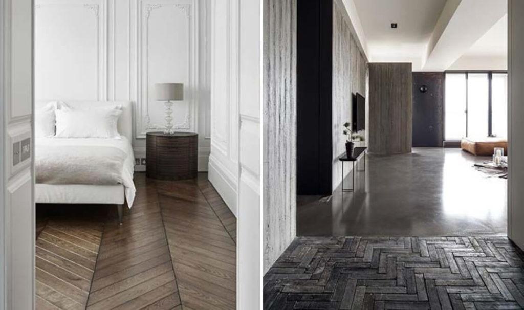 Trend in vloerenland de visgraat vloer ipc vloeren